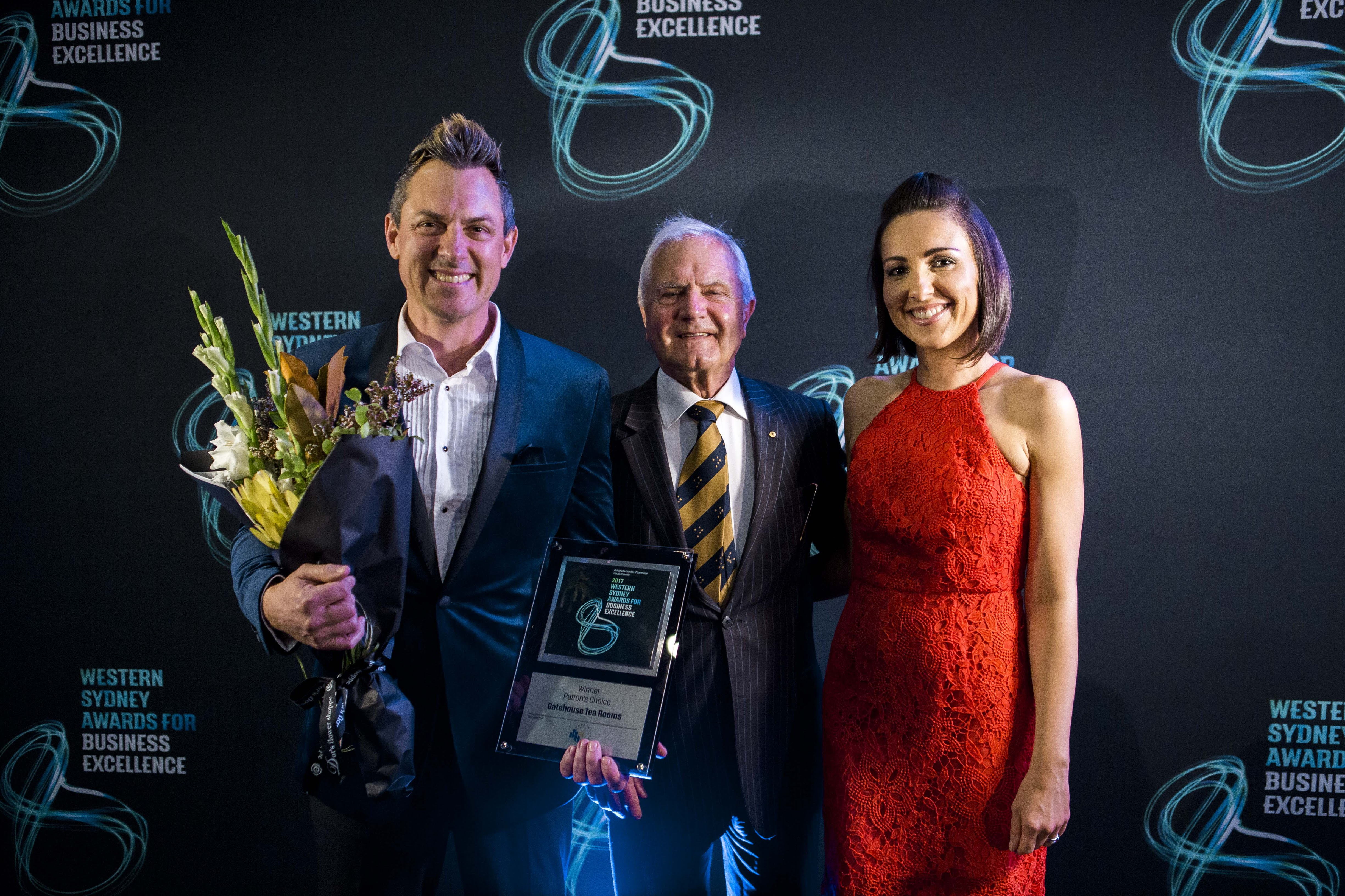WESTERN SYDNEY AWARDS FOR BUSINESS EXCELLENCE, WINNER OF PATRON'S CHOICE AWARD FOR OUTSTANDING BUSINESS ACHIEVEMENT 2017